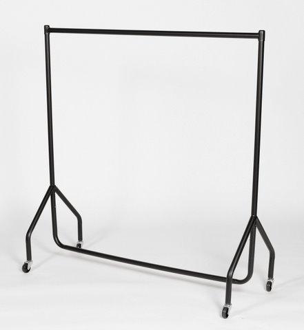 Perchero de barra para ropa de niños, resistente, 120 cm de largo x 120 cm de alto