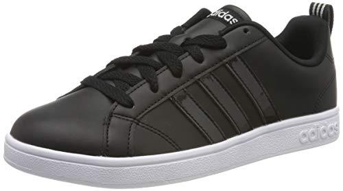 adidas Vs Advantage Zapatillas de Tenis Mujer, Negro (Core Black/Core Black/Grey Two F17 Core Black/Core Black/Grey Two F17), 37 1/3 EU