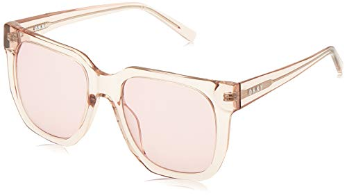 DKNY DK513S Gafas de sol, Crystal Blush, 53 MM, 20 MM, 135 MM para Mujer
