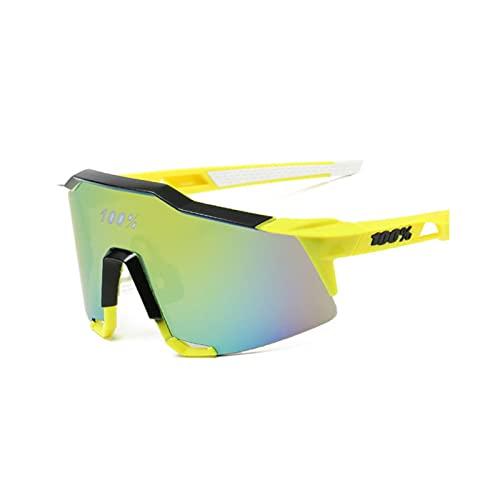 Aiovemc Gafas de sol Gafas de montar Gafas deportivas al aire libre Gafas de sol Bicicleta de montaña Protección UV Gafas de montar