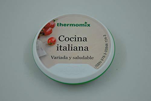 Vorwerk Libro RECETARIO Digital THERMOMIX TM5 Cocina Italiana