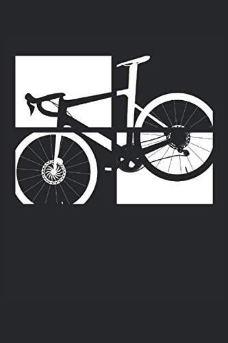 Four Frames Fahrrad Rennrad Cycologist Cycopath Bike MTB Rahmen: NOTIZBUCH - Lustiges Rennrad Fahrrad Geschenk, Geschenkidee - A5 (6x9) - 120 Seiten - ... Geburtstag, Lustig - Triathlon Bilder