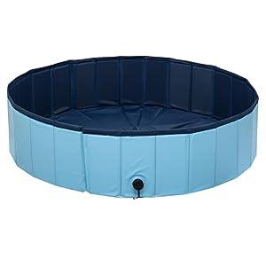 Piscina al aire libre de gran capacidad perro mascota Bañera cubo de baño plegable Cuenca ducha niños piscina bañera para interior exterior piscina fiesta