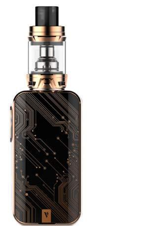 Vaporesso Luxe 220W Kit de TC de pantalla táctil con SKRR - Sin nicotina (Bronce)