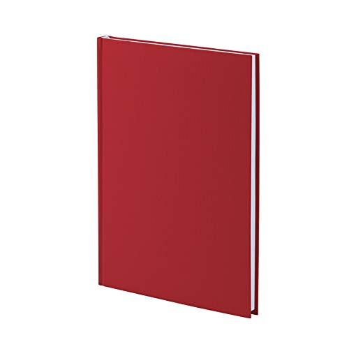 Rössler 1878452362 - S.O.H.O. Notizbuch A4, 192 Seiten gebunden, rot