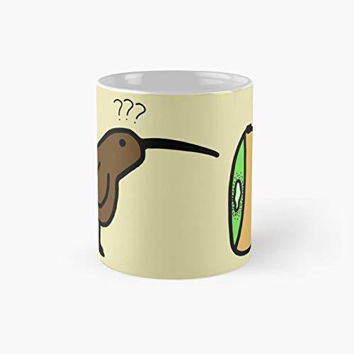 Kiwis - Taza clásica con el mejor regalo, tazas de café divertidas, 325 ml