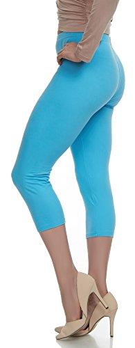 Lush Moda Extra Soft Leggings - Variety of Colors - Plus Size - Aqua
