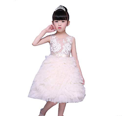 SMACO Bloem Meisjes Jurken voor Bruiloft Tule Kant Lange Meisjes Jurk Party Kerst Jurk Kinderen Prinses Kostuum voor Kinderen