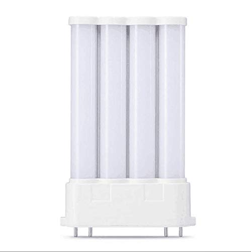 Yongjia LED 2G10 48LED Energiesparlampe 4 Pin Sockel Maislampe 16W ersetzt 24W Halogenlampe SMD 2835 (Größe: Warmweiß)