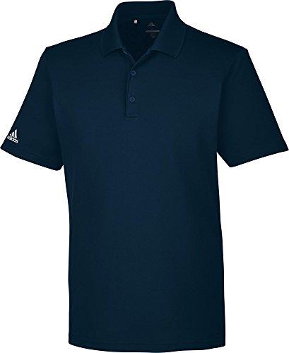 adidas Performance Polo mit Sonnenschutz UPF 50+ von Golf, Herren XL blau