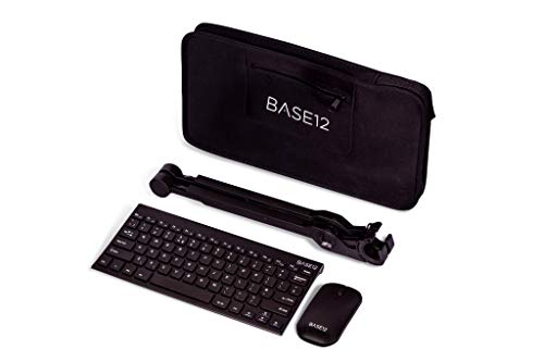NEXSTAND Limited edition remote working set laptop stand with keyboard, mouse and protective waterproof carry case (Black)
