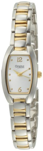 Caravelle by Bulova Women's 45L116 Silver White Dial Bracelet Watch