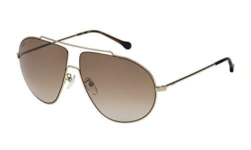 Loewe SLW477M63300X Gafas de sol, Shiny Rose Gold, 63 para Mujer