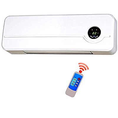 LLKK Cold air conditioner Energy-saving wall-mounted air conditioner, portable heating fan, home remote control wifi thermostat typeB