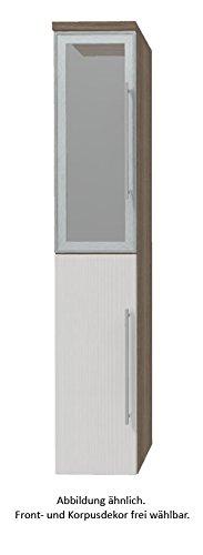 PURIS Kera Trends Armadio Alto (hna033b7l/R) Mobile da Bagno, 30cm