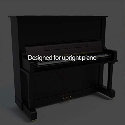 Almohadillas para piano con absorción de impactos duradera para interpretación para principiantes de piano para la escuela para piano vertical