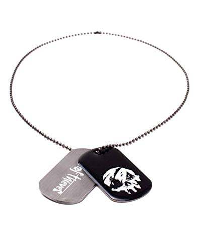 Sea Of Thieves Dog Tags Skull Logo Nue offiziell gamer Grau and