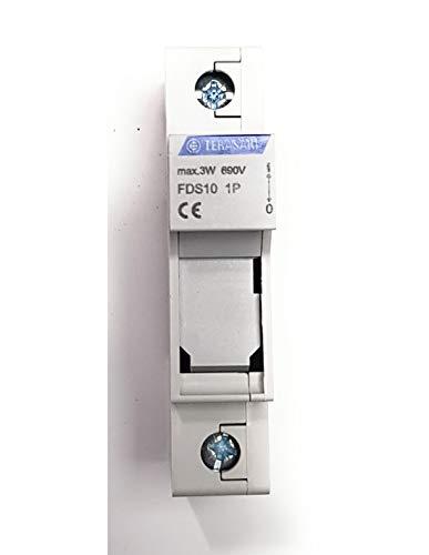 Porta-fusibles 1polo 25A DIN