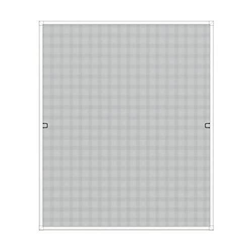 WIP Insektenschutz Rahmenfenster 100x120cm, weiß