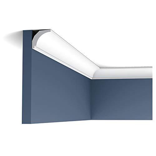 Sierlijst, profiellijst, Orac Decor CX115 AXXENT stuck profiel, hoeklijst, wandlijst, plafond, lijst, 2 meter