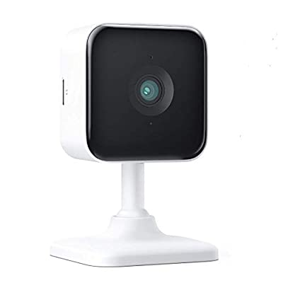 Teckin Cam 1080P FHD Indoor Wi-Fi Smart Home Security Camera with Night Vision, 2-Way Audio, Motion Detection, Omnidirection for Baby/Pet/Nanny/Elderly, 1 Pack
