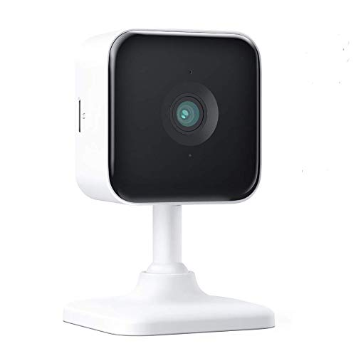 Teckin Cam 1080P FHD Indoor Wi-Fi Smart Home Security Camera with Night Vision, 2-Way Audio, Motion Detection, Omnidirection for Baby/Pet/Nanny/Elderly, Works with Alexa & Google Home