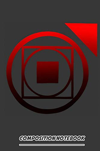 Vampire The Masquerade Clan Tremere Gradient Red Symbol Notebook: (110 Pages, Lined, 6 x 9)