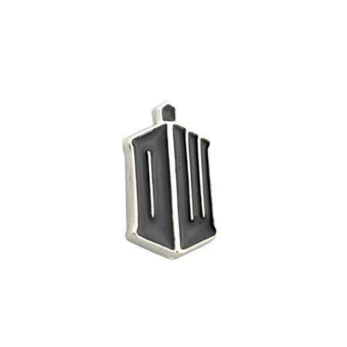 JiuErDP Doctor Who Polizei Hemd Brosche Abzeichen (2 Stück) Broschen