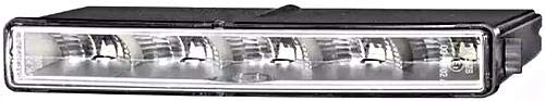 HELLA 2PT 010 043-021 Tagfahrleuchte - LEDayLine - LED - 12V - Einbau - Kabel: 1800mm/2700mm - Einbauort: rechts
