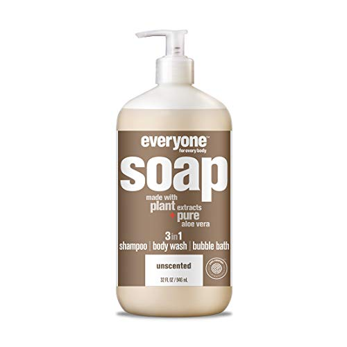 Everyone Bath Soap, Unscented, 32 Fl Oz (Pack of 1)