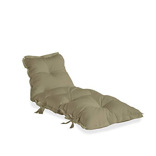 Karup Design Sit And Sleep out - Poltrona Lounge per Esterni, con Tessuto Dralon Resistente allo Sporco e Impermeabile, Coperta in Beige, 75 x 65 x 30 cm
