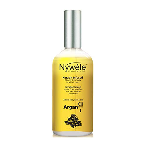 Nywele Argan Oil Keratin Infused Oil Treatment 3.4oz -  1