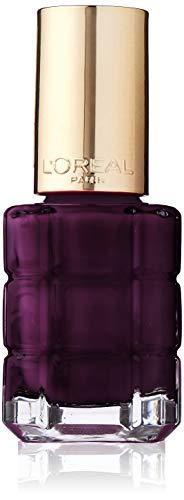 L'Oréal Paris Color Riche Le Vernis Nagellack mit Öl in Dunkelgrau / Pflegender Farblack in...