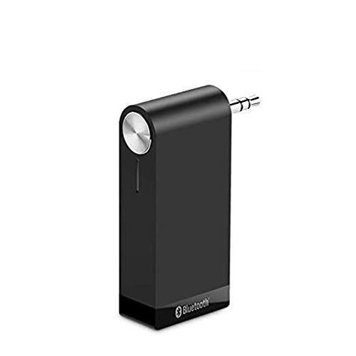 DZSF Receptor Bluetooth 4.1, Inalámbrico Aptx LL 3.5Mm Car Aux 3.5 Jack Adaptador estéreo Música Auricular Bluetooth Audio Receptor,B