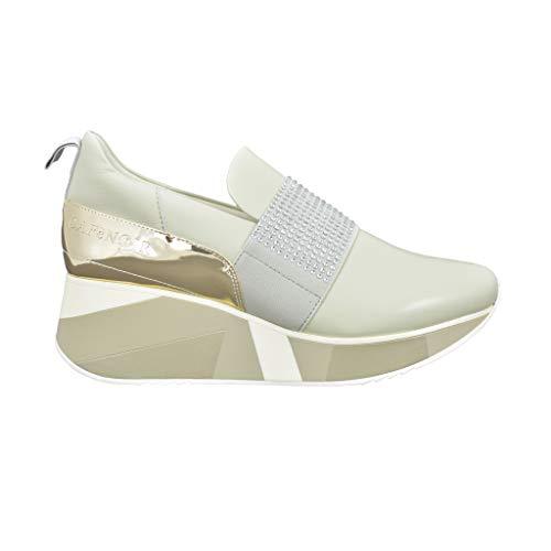 CAFÈ Noir DH422 Schuhe OHNE Laces Damen Grigio 37