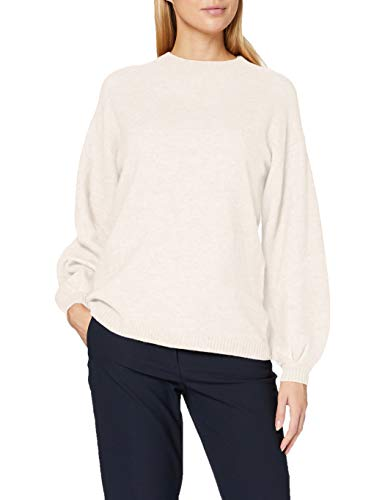 ESPRIT Collection 090EO1I318 Pullover Damen, Weiß (110/OFF WHITE), S