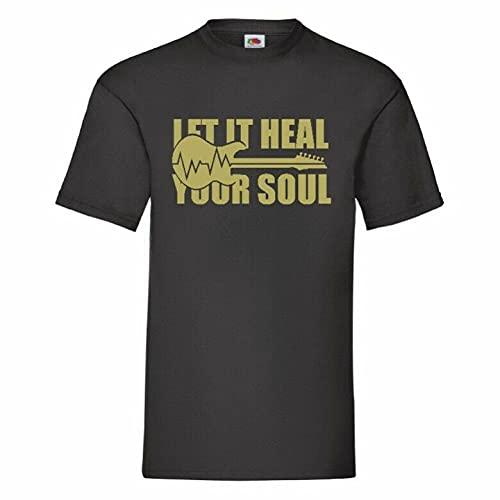 RUI - K25 Let It Heal Your Soul T Shirt 12 Colours To Choose FromBlack3XL
