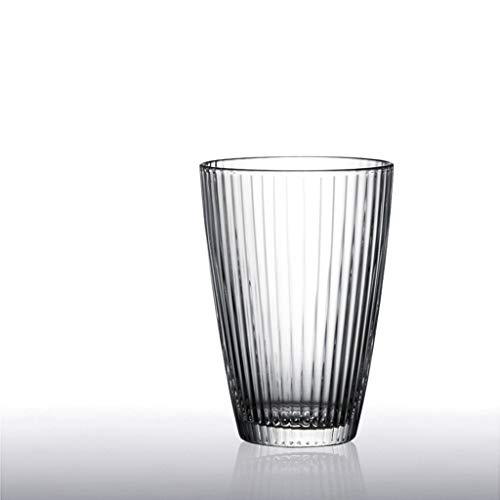 LRW Japanse stijl Glasses Gestreepte Mug Coffee Mug Restaurant Wine Glasses Juice Mug -180ml