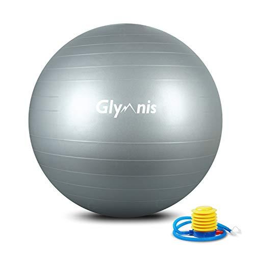 Glymnis Ballon de Fitness Ballon de Gymnastique 55cm 65cm 75cm...