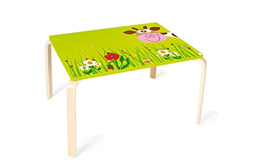 Scratch 6182304 - Tisch Kuh Marie, 70 x 50 x 45 cm