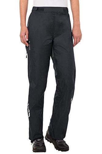 VAUDE Damen Hose Tremal Zip Off Rain Pants, Black, 34, 05476