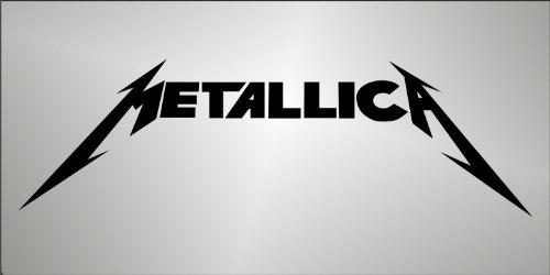 Graphic-lab Aufkleber - Sticker Freiform - Decal Metallica hip hop Rap Jazz Hard Rock Metal pop Sticker