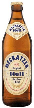 Meckatzer Hell 18 Flaschen x0,5l