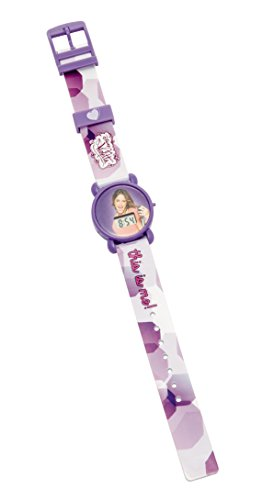 Disney Mädchen-Armbanduhr Violetta LCD-Uhr 8x3x27 cm Digital Quarz Plastik 117012