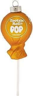 kat + annie Orange Tootsie ROLL POP Ornament