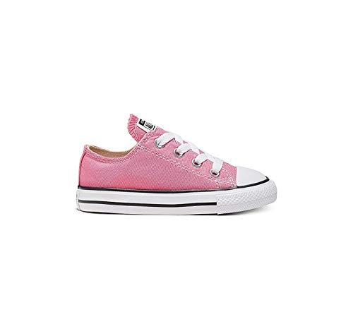 Converse Ctas Core Ox Scarpe Sportive, Unisex Bambino, Rosa (Pink), 23