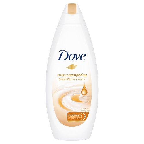 Crème de douche Dove, Purely Pampering, à l'huile