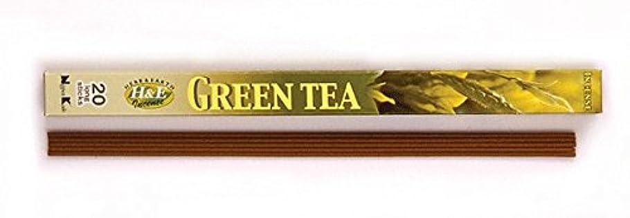 震えるズームインする降ろすHERB&EARTH Incense GREEN TEA グリーンティー スティック 【お香】