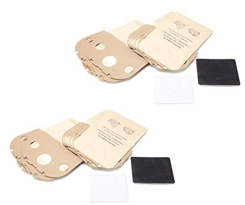 DREHFLEX - SB826-2 - 20 Staubsaugerbeutel aus Papier passend für Vorwerk - Tiger 250 251 252