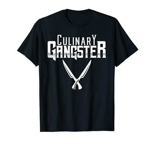 Gángster culinario Talentoso Chef Cocinar BBQ Master Cook Regalo Camiseta